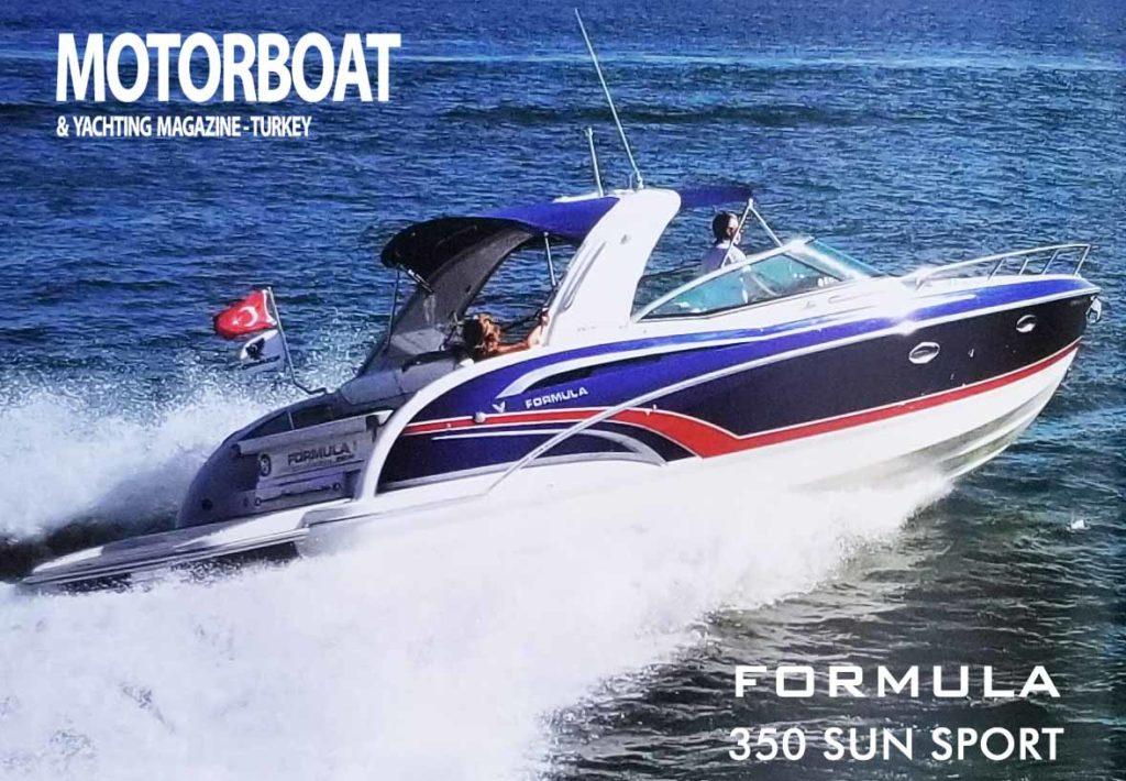 Formula Tekne Test Sürüşü350 SS