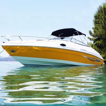 2. el satılık sürat teknesi kamaralı