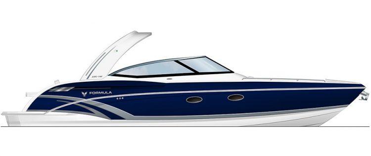 fast luxury boats Formula 330 CBR
